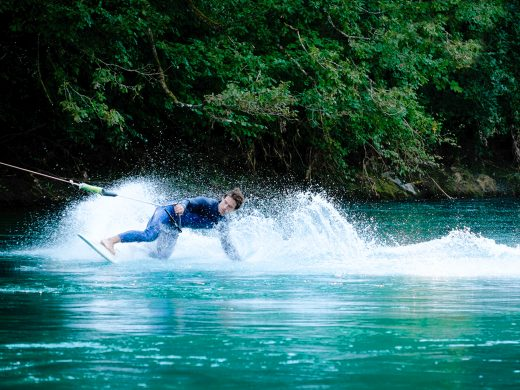 Bungee Surfing sull'Aare