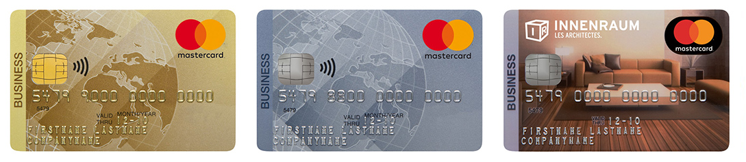 Cartes Mastercard Business Raiffeisen
