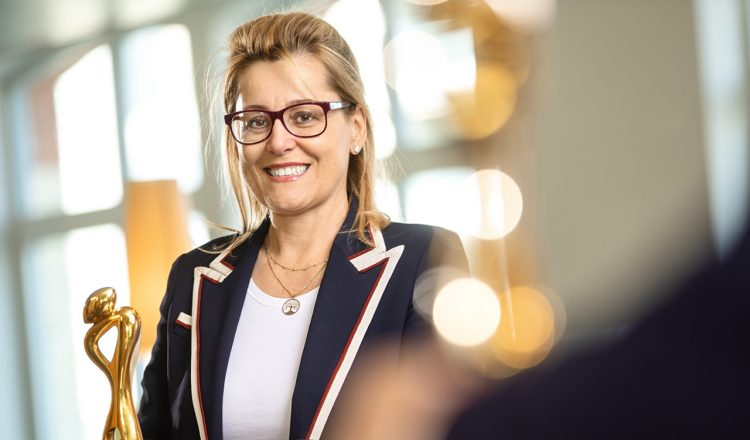 Bettina Fleisch, CEO säntis packaging AG