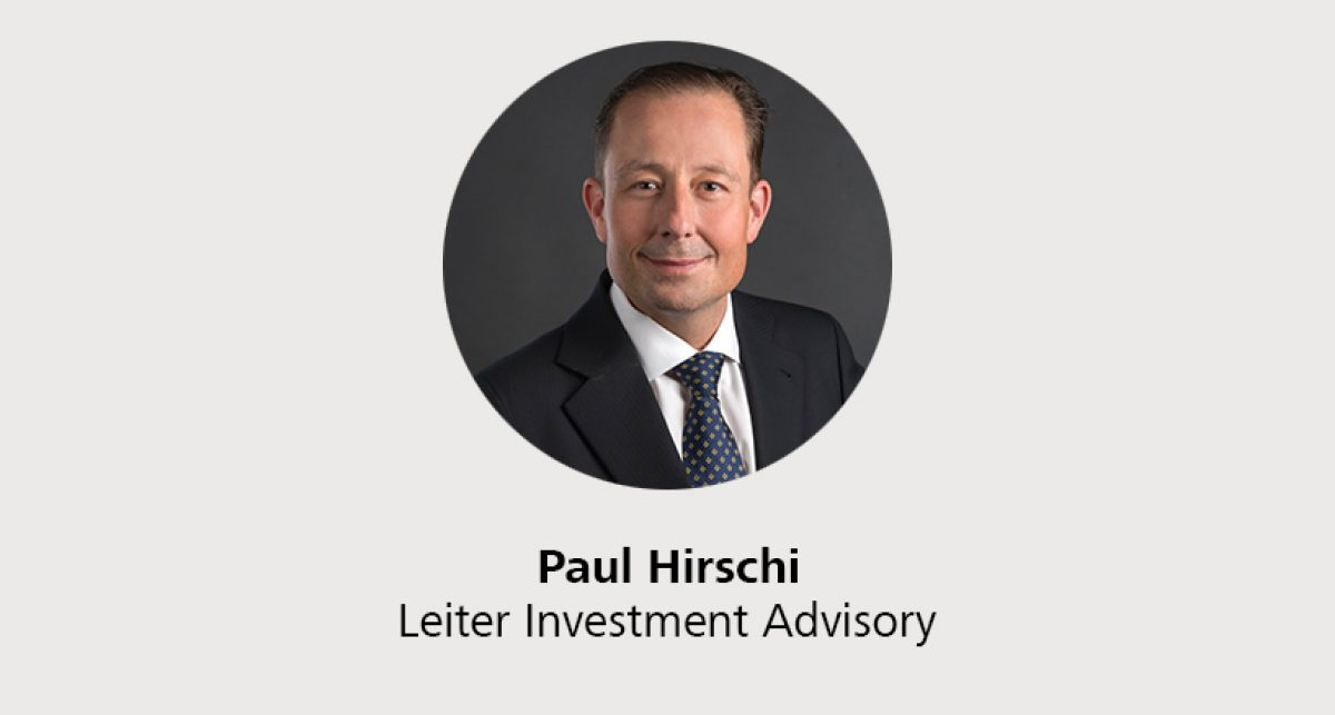 Paul Hirschi - Leiter Investment Advisory