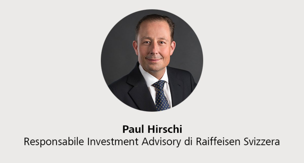 Paul Hirschi - Responsabile Investment Advisory di Raiffeisen Svizzera