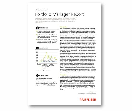 Manager Report 3er trimestre 2020