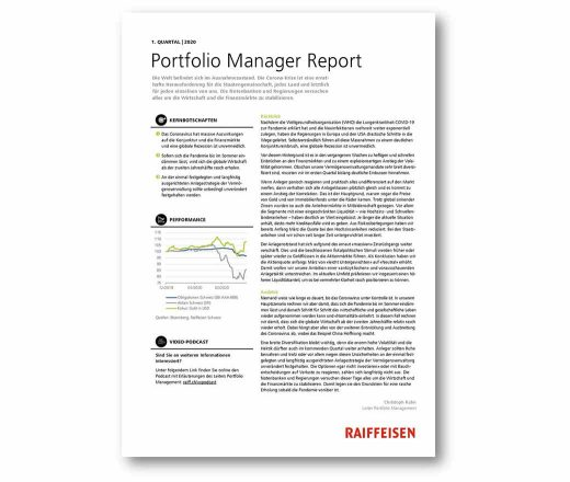 Manager Report 1. Quartal 2020