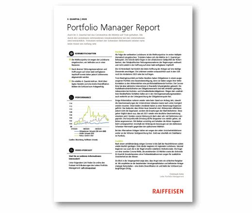Manager Report 3. Quartal 2020