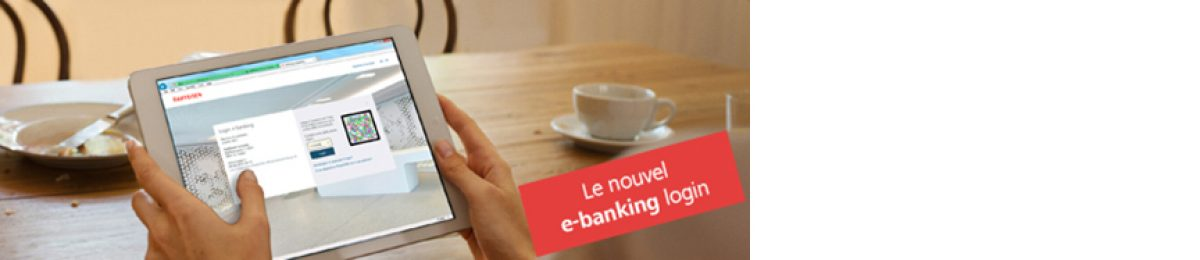 Le nouvel e-banking login
