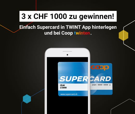TWINT Coop Supercard