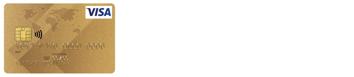 Visa Card Gold EUR USD