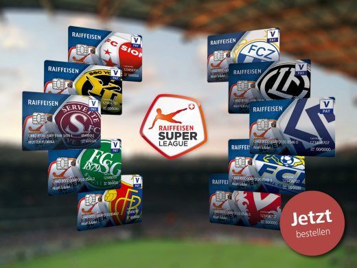 Raiffeisen Super League V PAY-Karte