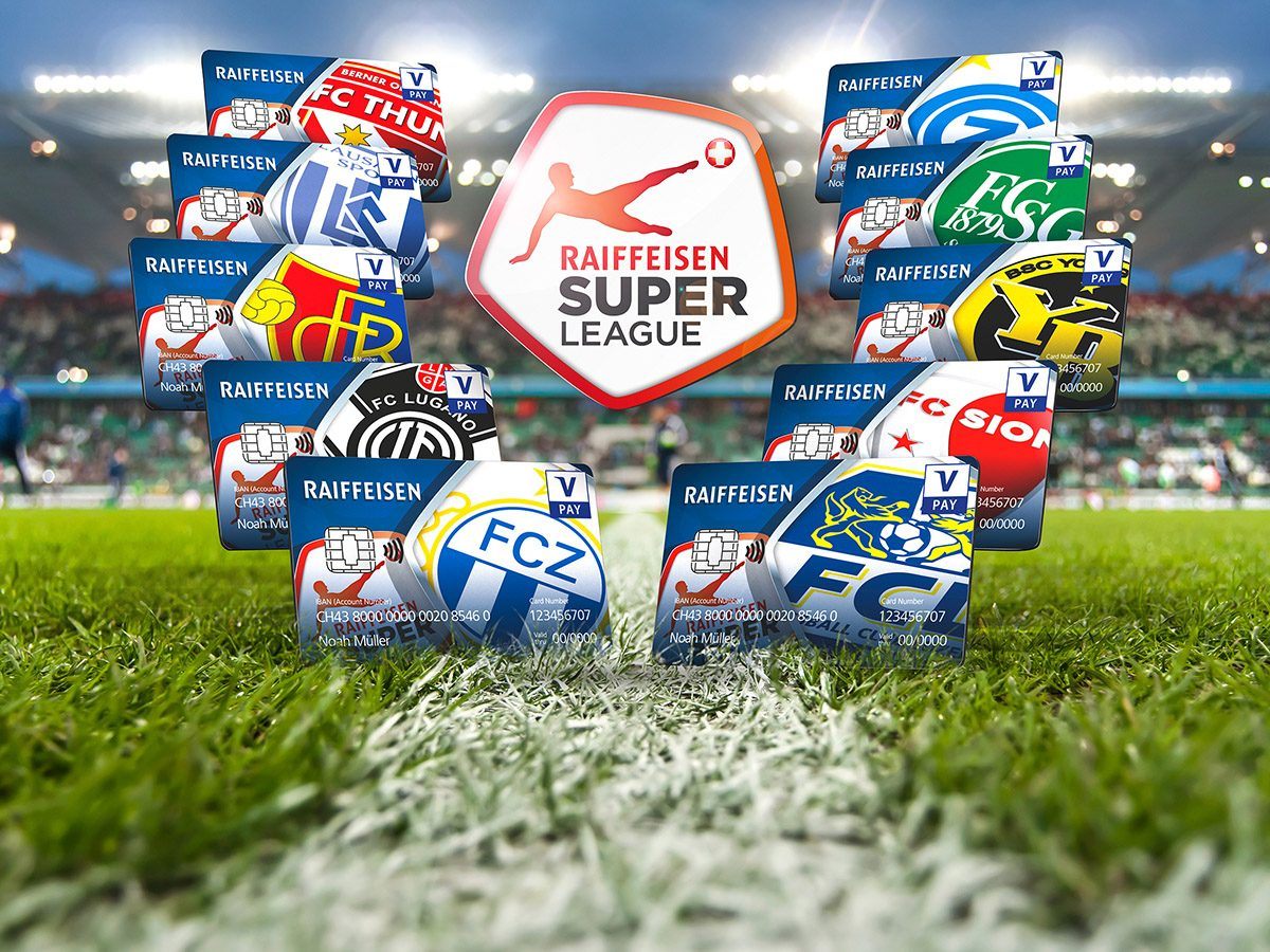Raiffeisen Super League carte V PAY