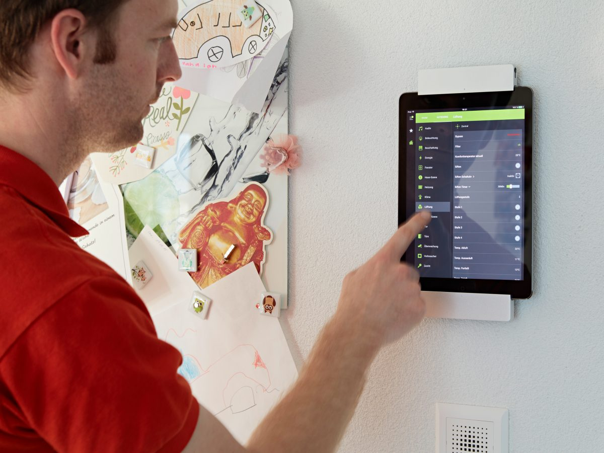 Smarthome tablet